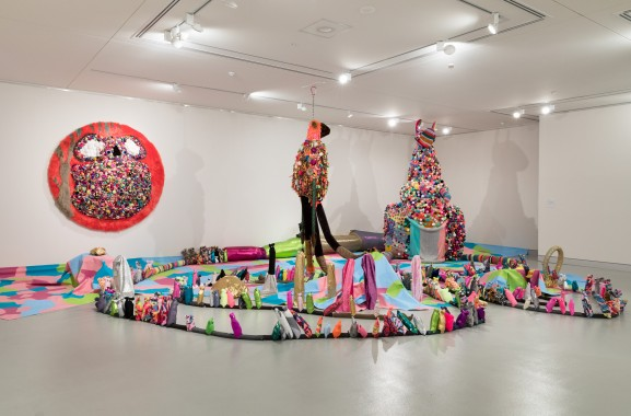 I can Painta Rainbow exhibition at Hawkesbury RegionalArt Gallery